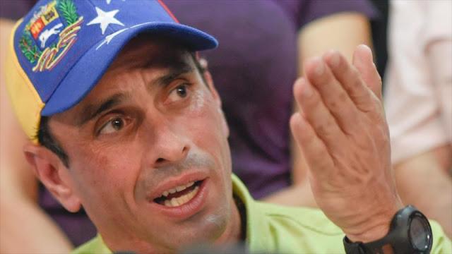 Capriles: Venezuela no tiene futuro mientras gobierne Maduro