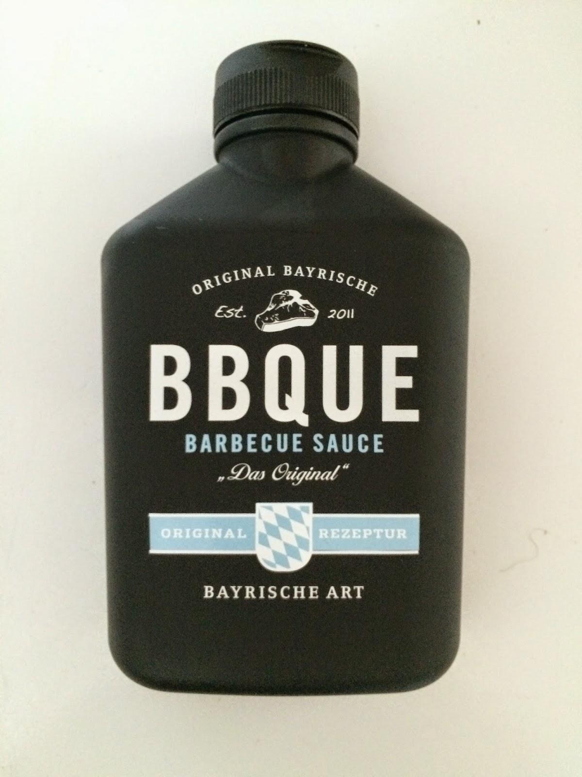 BBQUE sauce jar