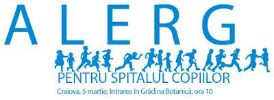 Craiova 05 Martie - Alerg pentru Spitalul Copiilor