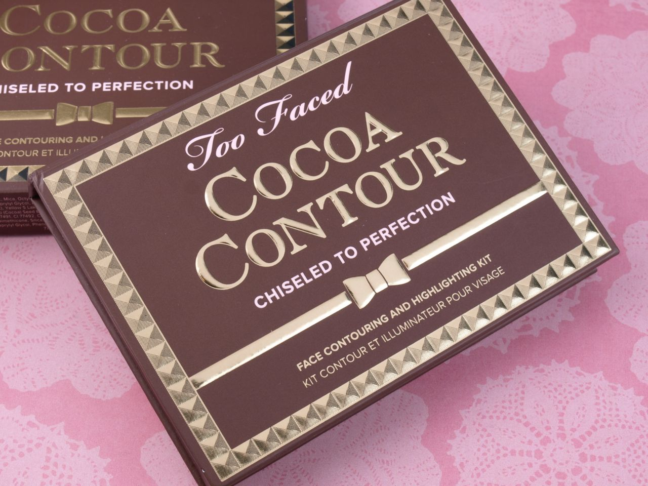 Too Faced Cocoa Contour Chiseled to Perfection Palette: Review and Swatches