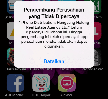 Cara Terbaru Download AirShou di iPhone Tanpa Jailbreak