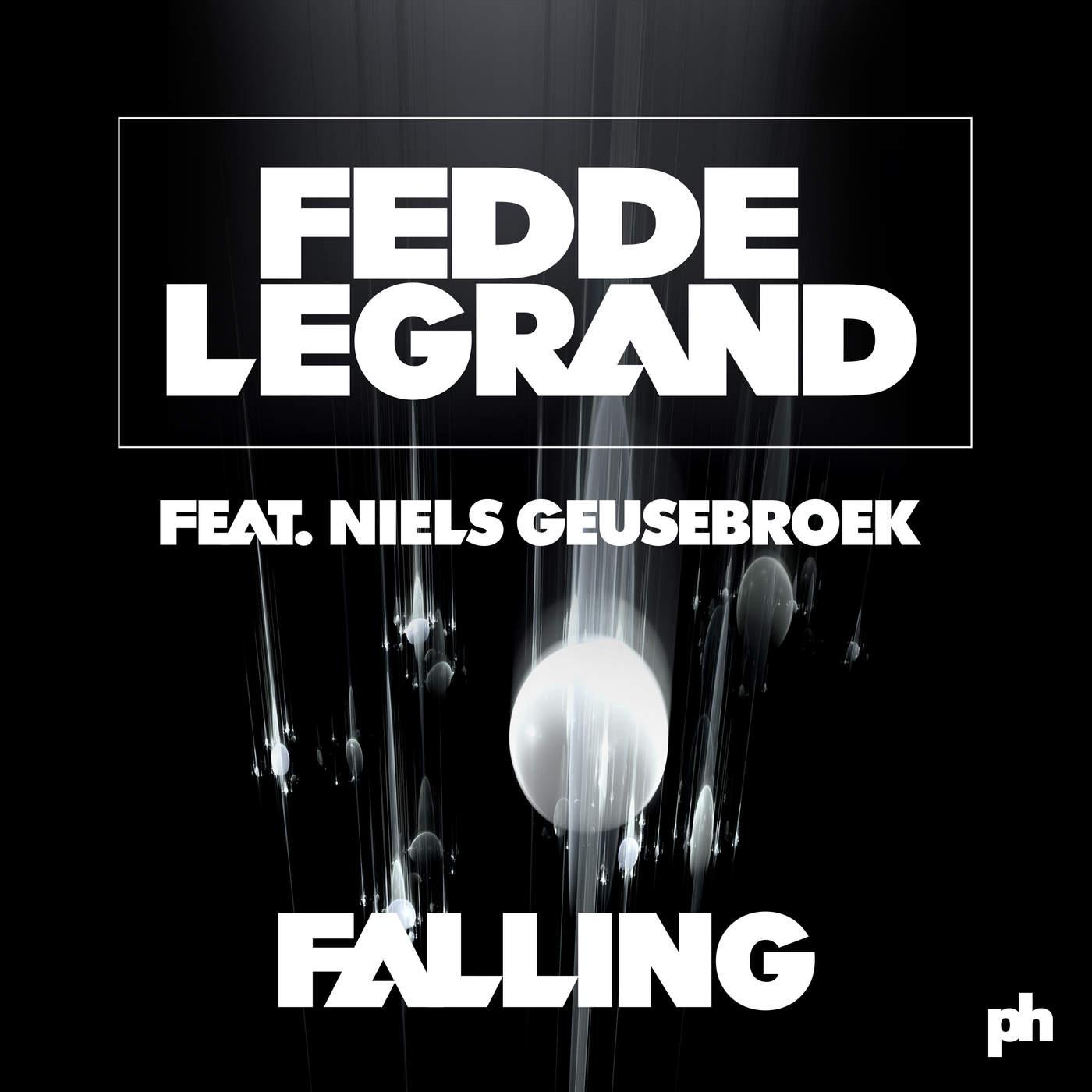 Fedde le Grand - Falling (feat. Niels Geusebroek) [Radio Edit] - Single Cover
