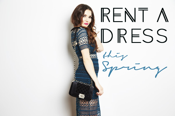 Where to rent a dress in Toronto