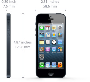 iphone 7 size in mm