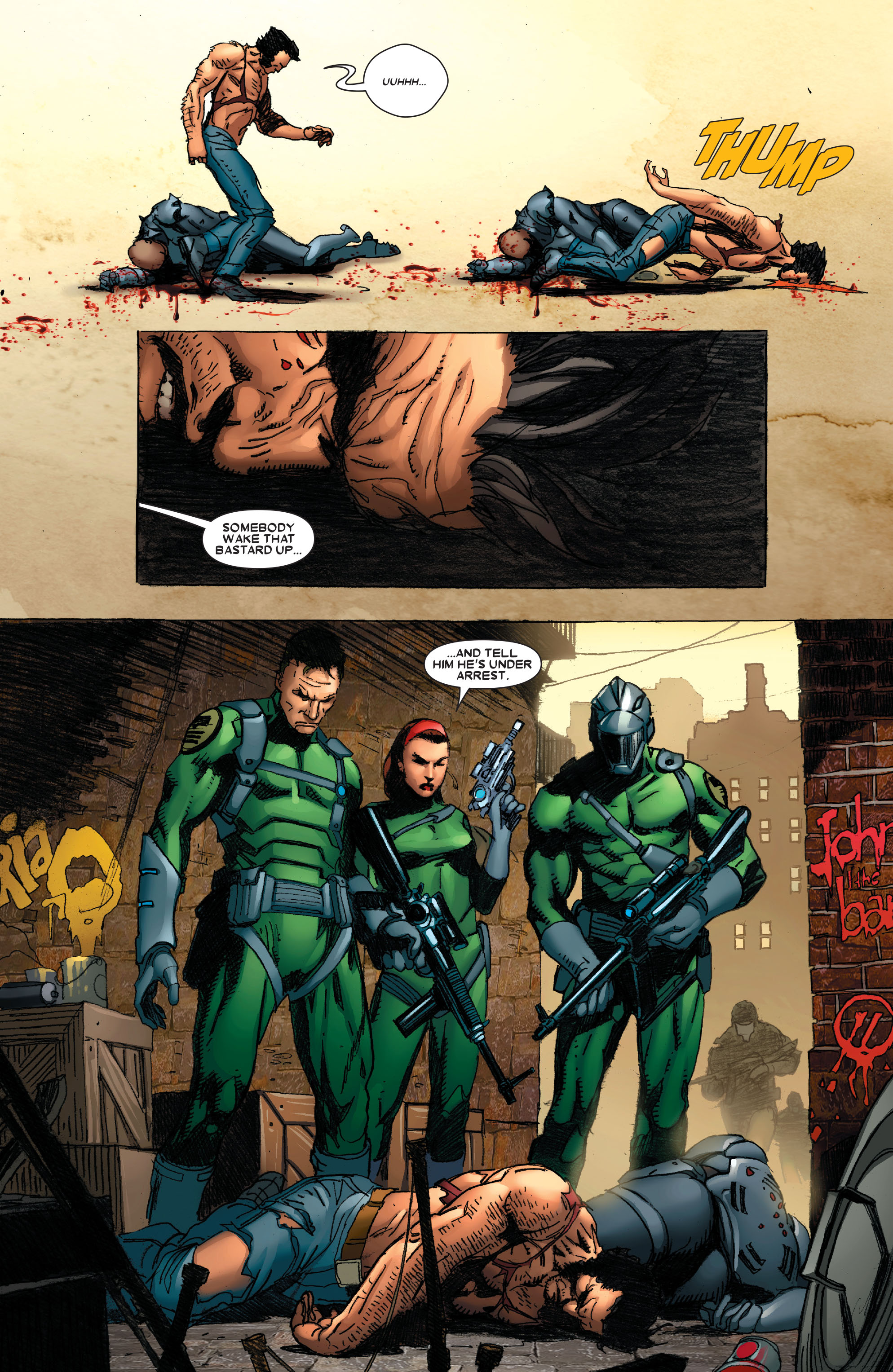 Read online Wolverine: Weapon X comic -  Issue #4 - 23