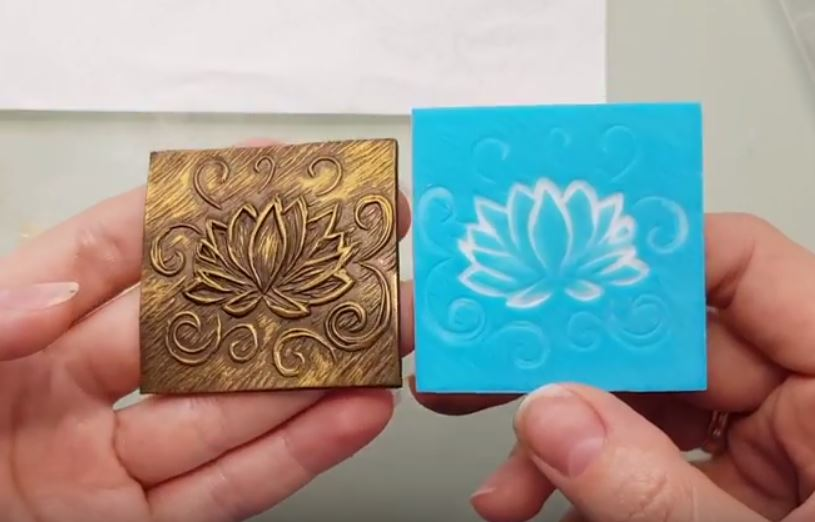 Using linoleum cutting tools for making polymer clay