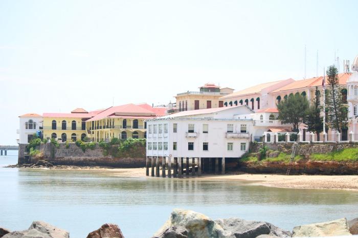 view of historic panama