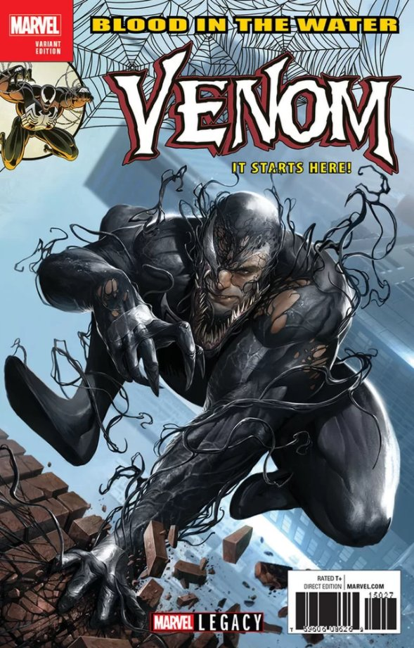 The Venom Site: venom legacy variant cover