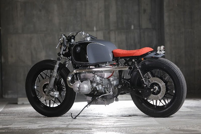 BMW R100 By Heiwa Hell Kustom