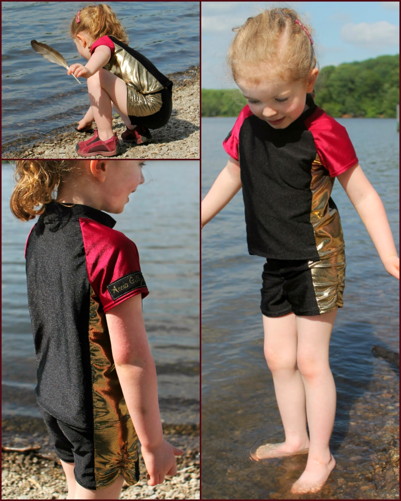 Harry Potter Triwizard Swimwear | The Inspired Wren for CraftingCon
