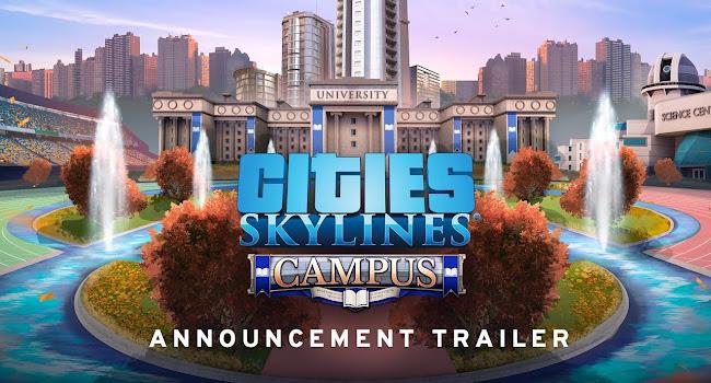 Paradox mengumumkan Expansion Kampus untuk City: Skylines