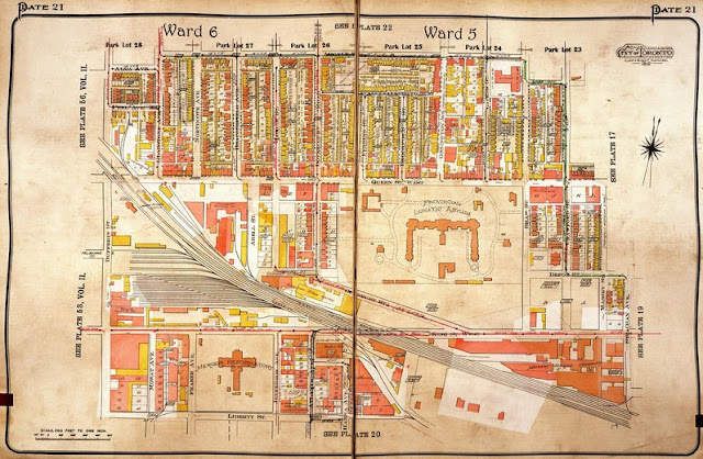 Plate 21, Goad's Atlas of the City of Toronto, 1924