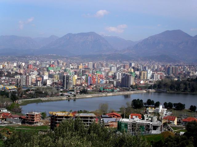 Τίρανα, την πρωτεύουσα της Αλβανίας