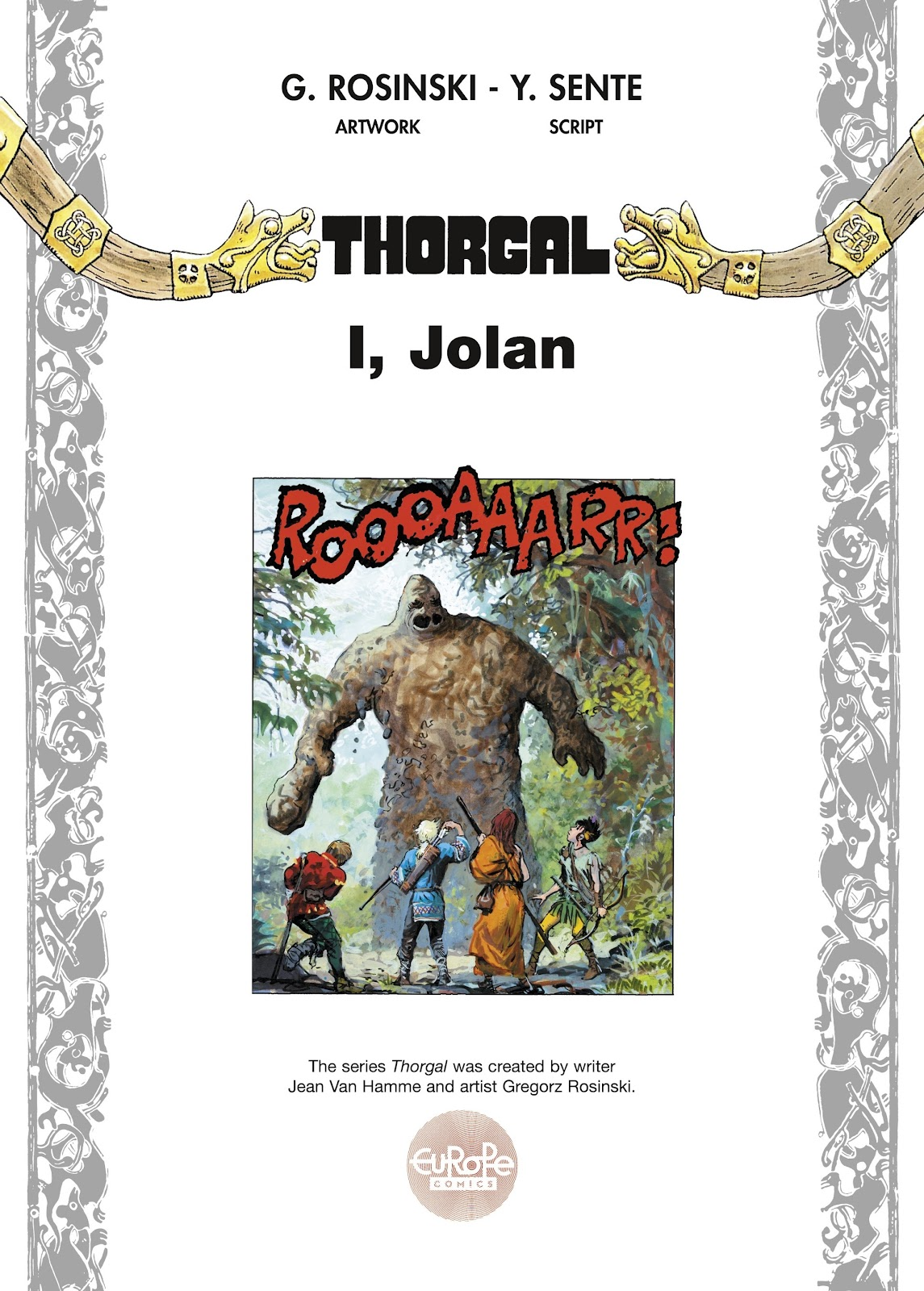 Read online Thorgal comic -  Issue #22 - 3