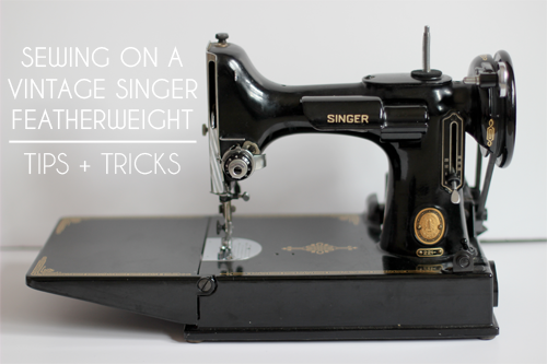 Vintage Singer Featherweight Tips and Tricks - In Color Order