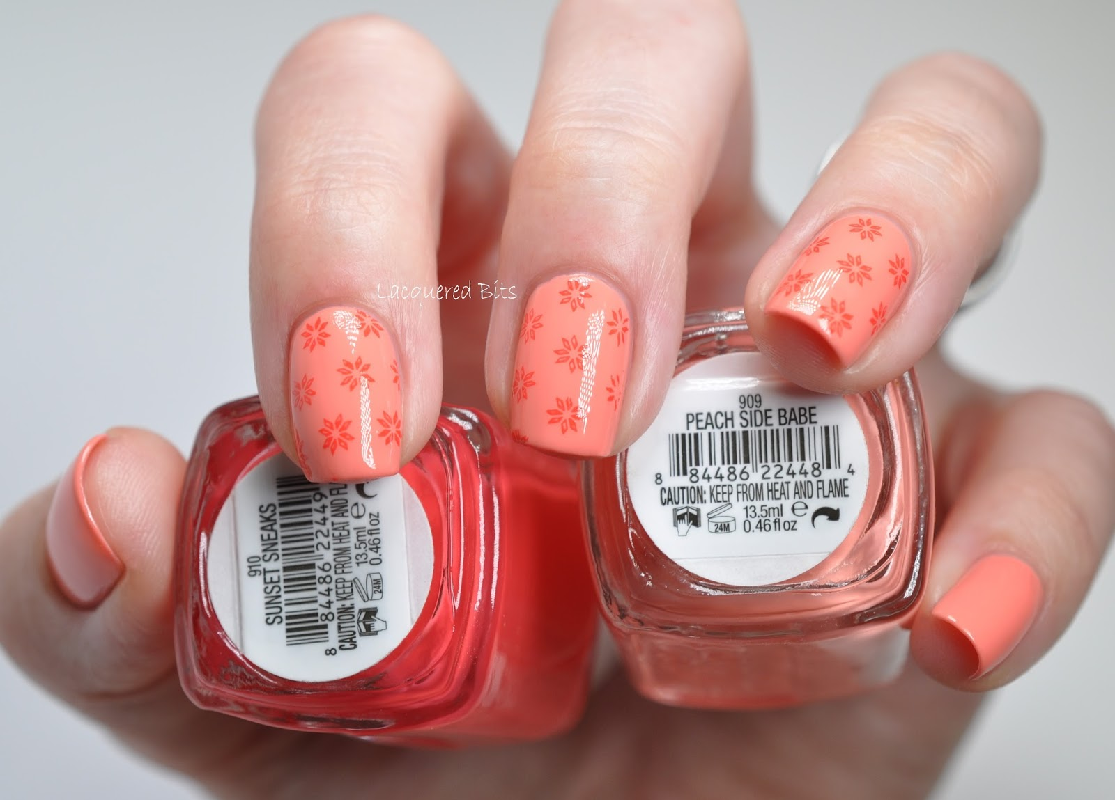 Essie Summer Stamping - Lacquered Bits