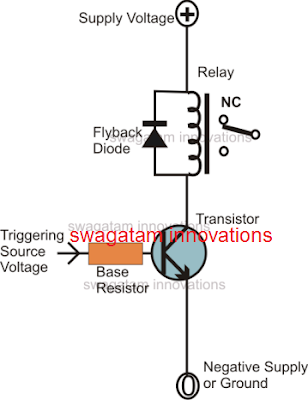 relay driver stage circuit