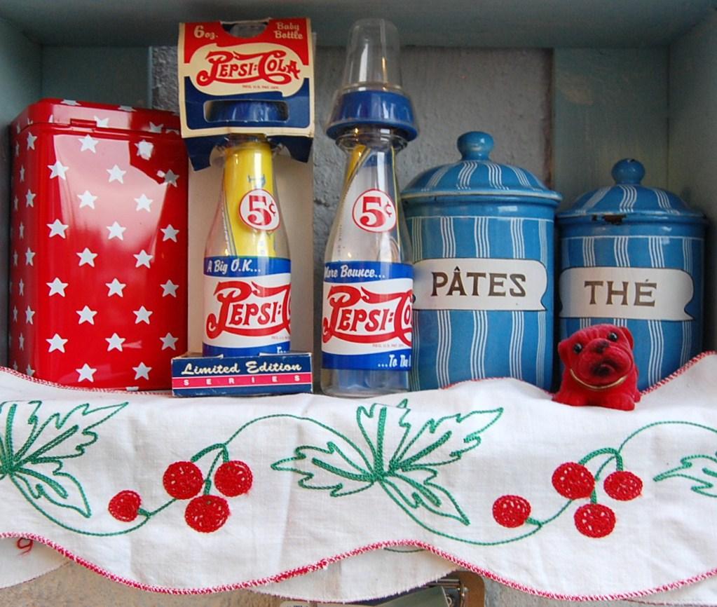 vintage pepsi cola bottles
