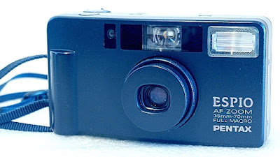 Pentax Espio AF Zoom, Front right
