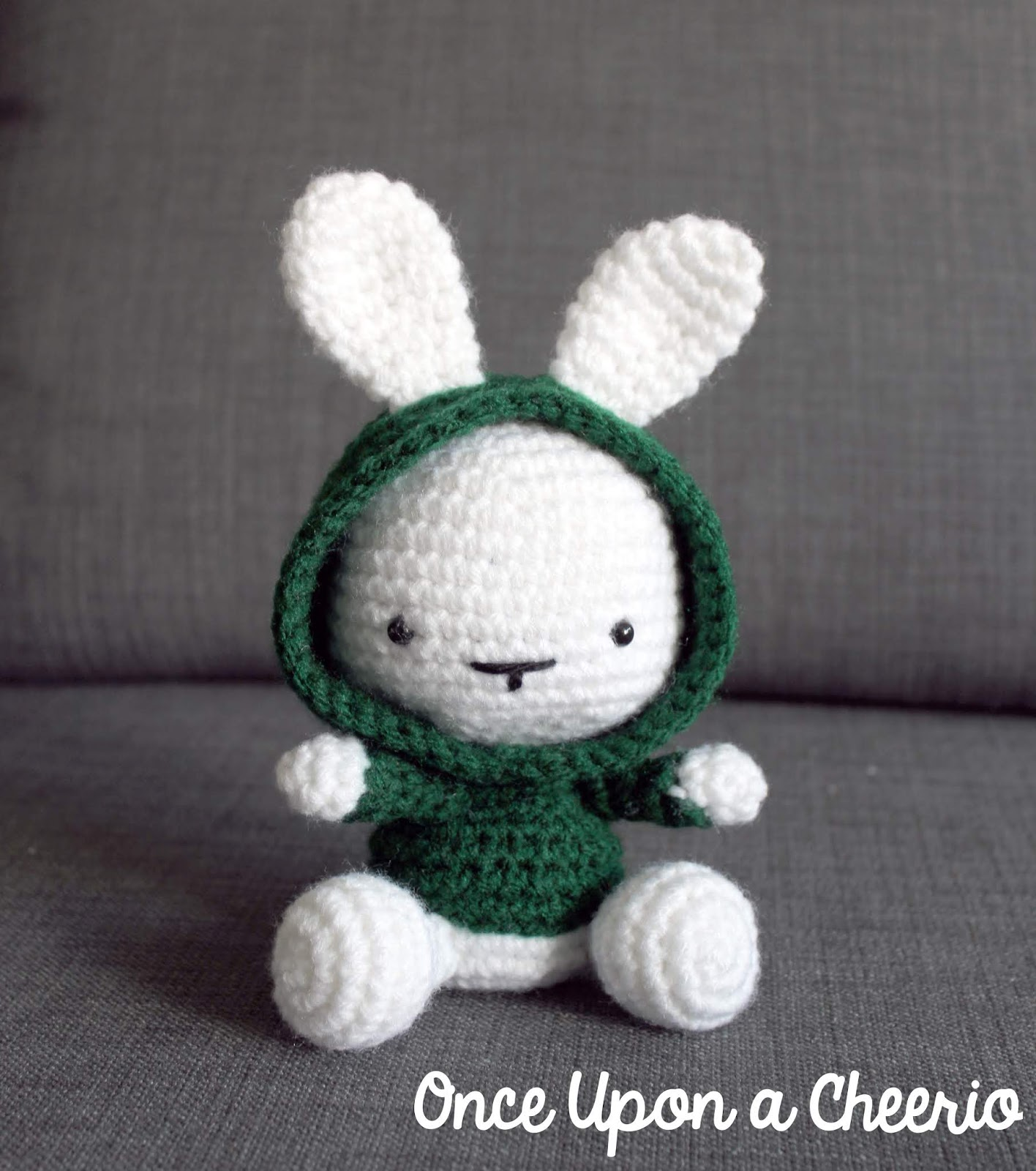 Some Bunny In The Hood Crochet Pattern Once Upon A Cheerio