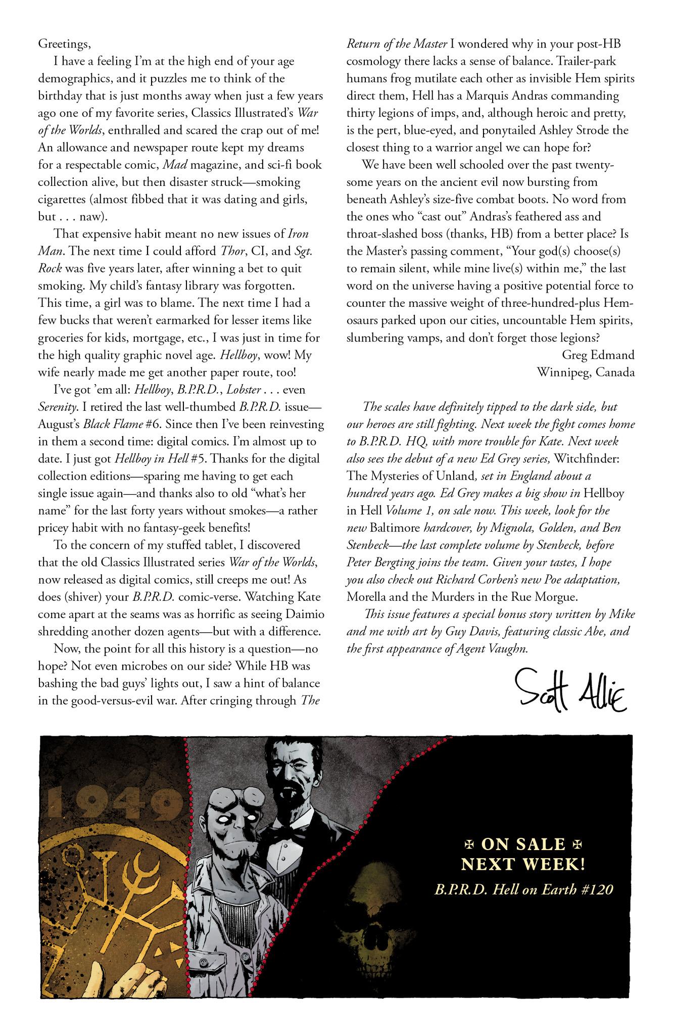 Read online Abe Sapien comic -  Issue #13 - 26