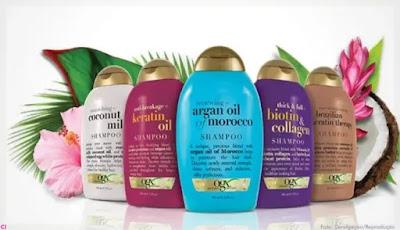 Shampoo e Condicionador OGX sem sulfatos