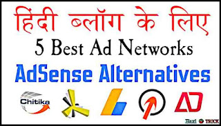 Best Ad Network For New Hindi Blogger AdSense Alternatives