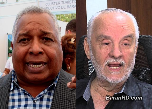 Melton Pineda y Leonardo Matos Berrido