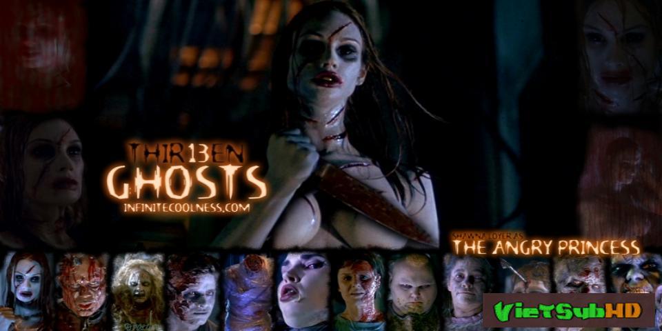 Phim 13 oan hồn VietSub HD | Thir13en Ghosts 2001