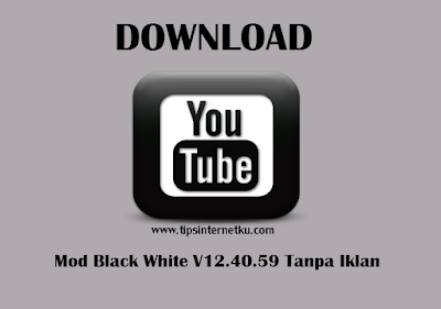Download Youtube Mod Black White v12.40.59 Tanpa Iklan Terbaru 2018