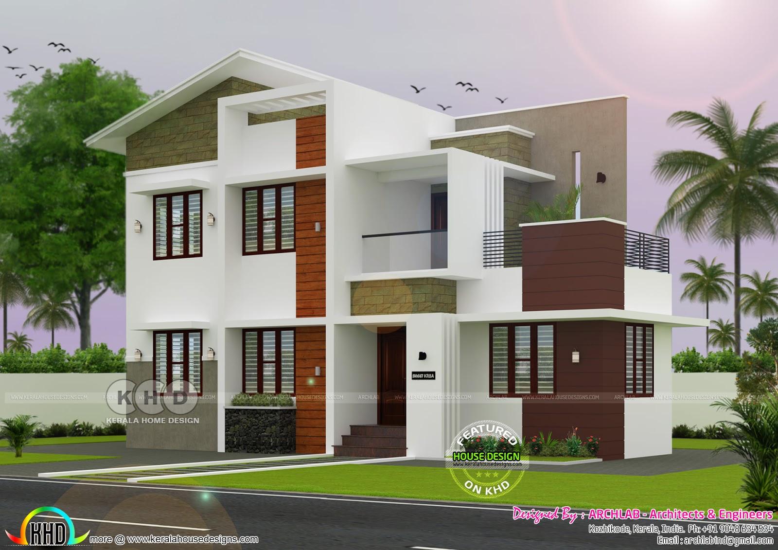 25 30 Lakhs Cost Estimated House Architecture Kerala