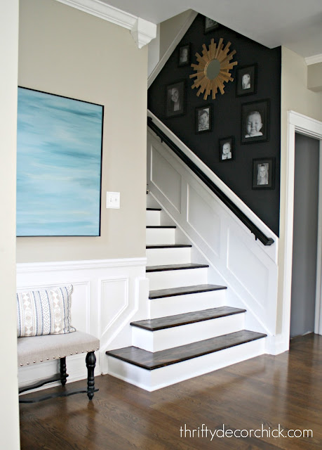 Removing carpet off of stairs