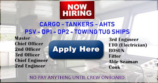 Hiring Crew For Cargo, Tankers, Offshore Ships