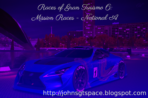 Gran Turismo 6 National A Mission Races