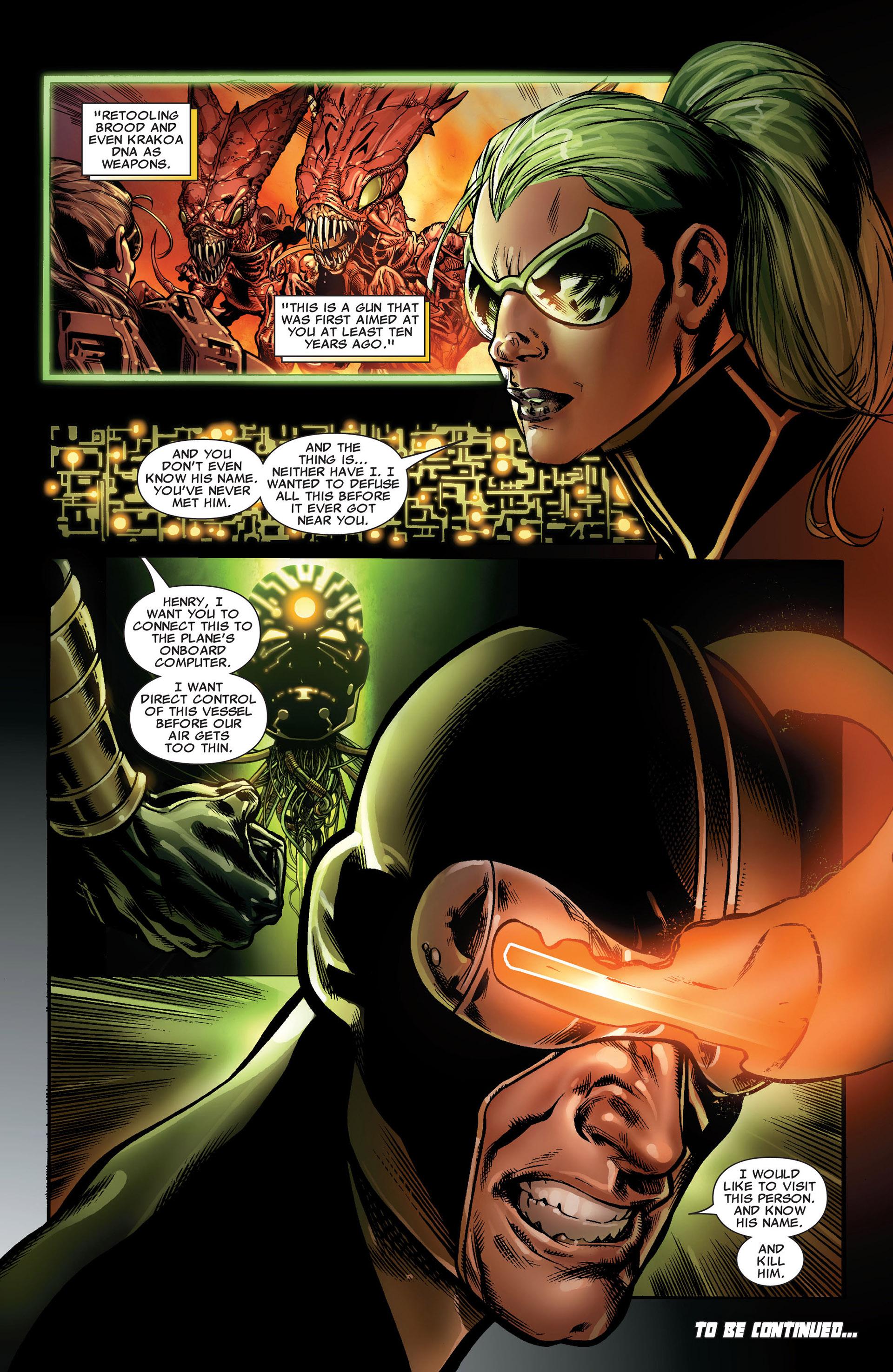 Read online Astonishing X-Men (2004) comic -  Issue #33 - 22