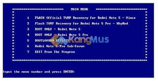 cara install twrp dan root redmi note 5