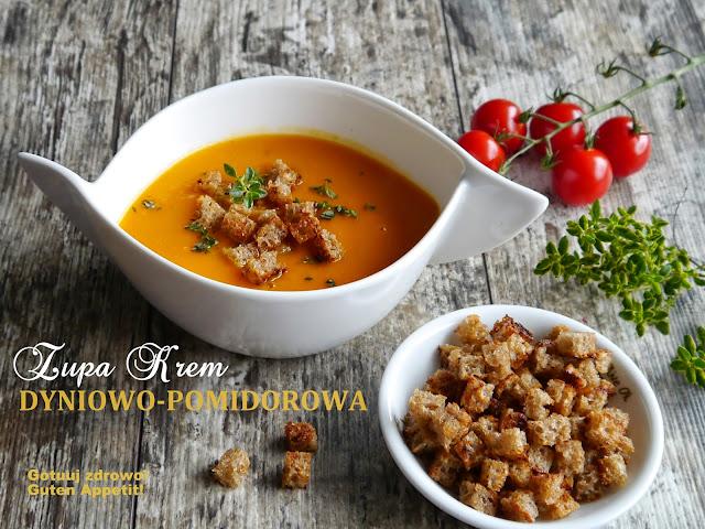 Zupa krem dyniowo-pomidorowa  - Czytaj więcej »
