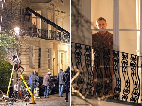 Principle Filming Of Spectre Began On Monday 8 December 2017 And A Few Days Later The Evening 15 Craig Was Location In Notting Hill