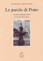 Copertina del libro le parole di Prato