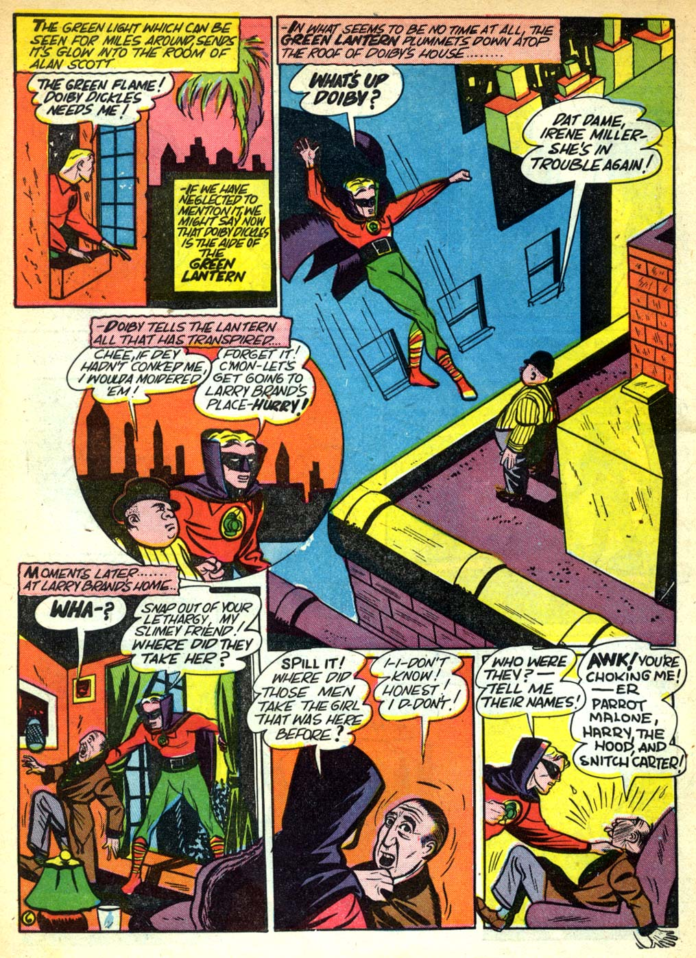 Read online All-American Comics (1939) comic -  Issue #28 - 8