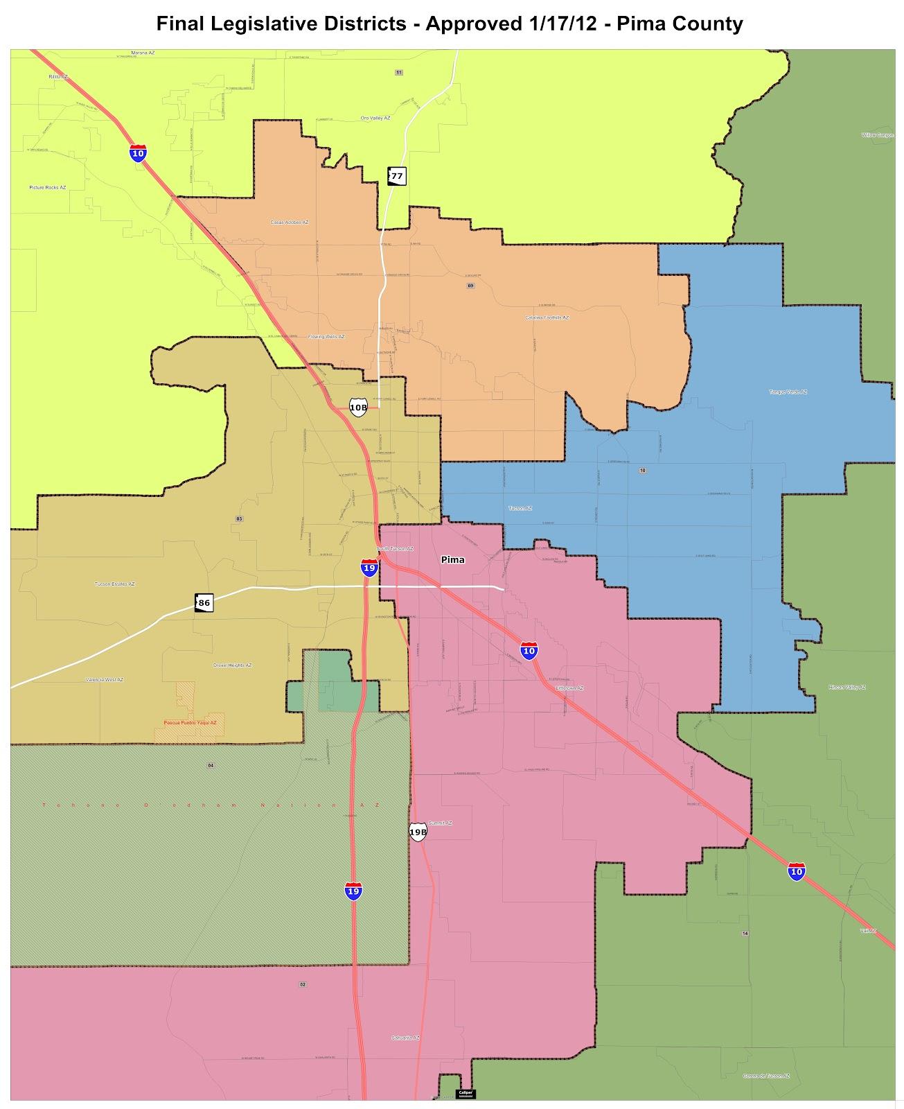 Map Of Arizona Legislative Districts.Random Musings Legislative Maps Approved By Doj