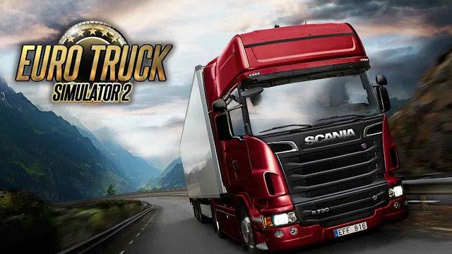 تحميل لعبة سباق الشاحنات euro truck simulator للكمبيوتر كاملة برابط مباشر