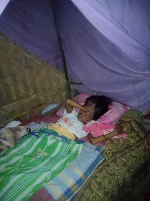 Kondisi Sima yang Berbaring Lemah di Tempat Tidurnya