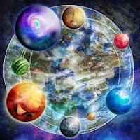 Lorsque nous sommes dans cette divine ivresse de La Lumière, on ne voit que L'Amour, on voudrait embrasser l'humanité et La Terre entière.