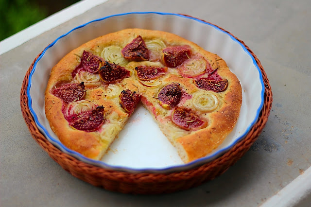 Focaccia με Σύκα / Focaccia with figs