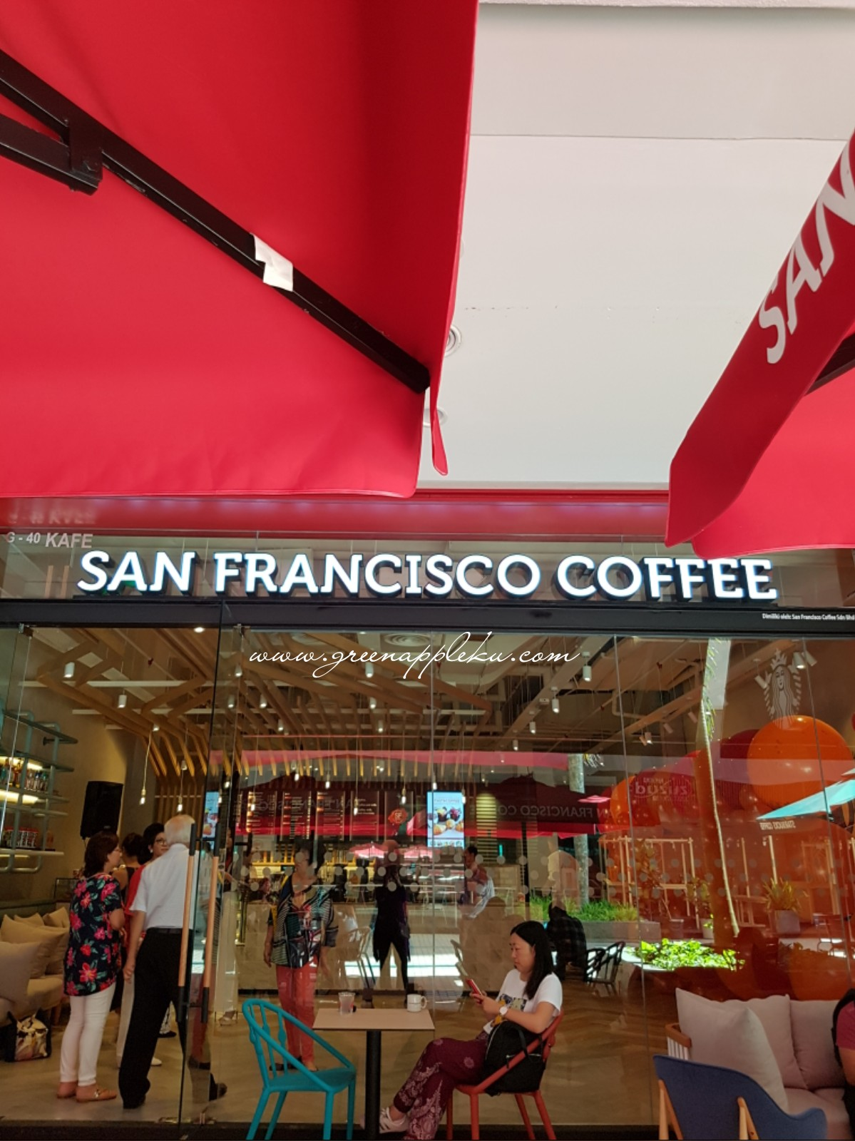 SF Coffee di Gurney Plaza, Penang