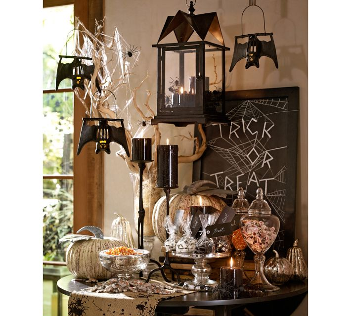 pottery barn knock off diy chalkboard fun font - Pottery Barn Halloween Decor