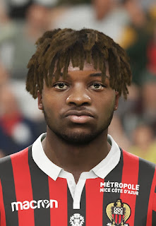 PES 2019 Faces Allan Saint-Maximin by Vlad_R