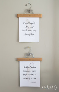 Bedroom Printables