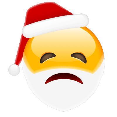 Forlorn Santa